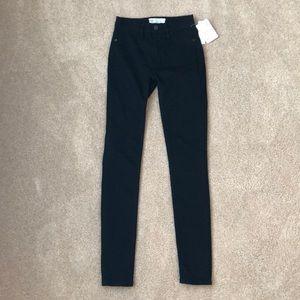 NWT Free People black skinny jeans